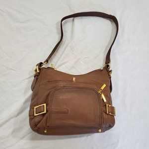 Stone Mountain Brown Leather Handbag